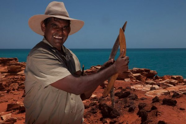 The Broome Man Making Food, Drink and Medicine from Boab Trees