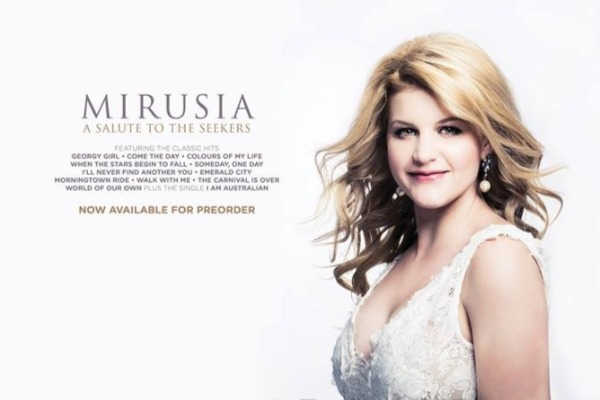 Mimma star Marusia salutes The Seekers with her new album