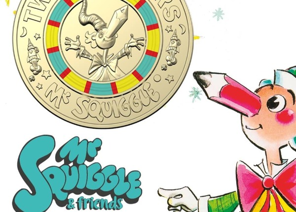 My Squiggle's 60th anniversary coin series