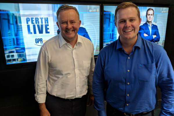 """I Want Every West Australian To Vote Labor"": Anthony Albanese"