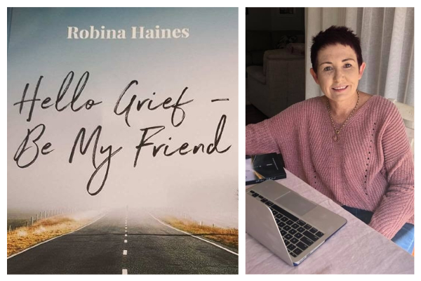 Author Robina Haines on living with grief