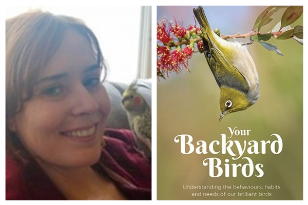 Dr Grainne Cleary on her new book Your Backyard Birds