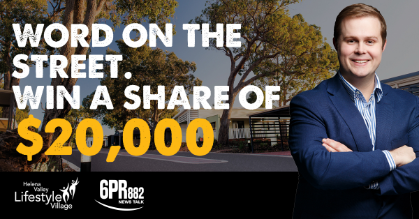 Win A Share In $20 000 With Perth LIVE's Word on the Street