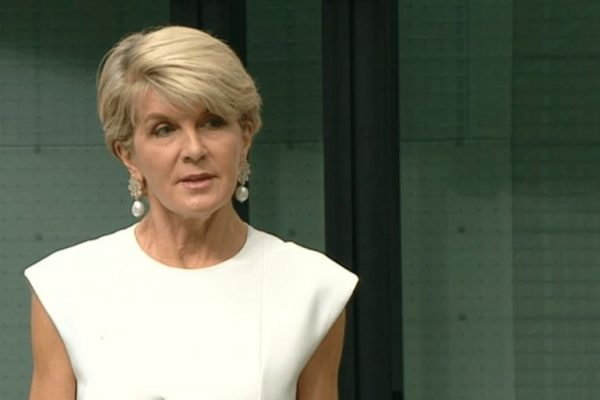 How will Julie Bishop be remembered?