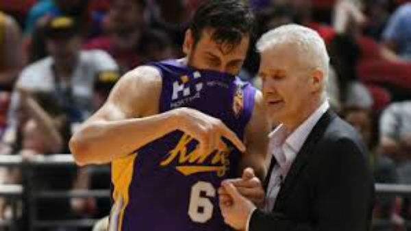 Article image for Family first for Sydney Kings coach Andrew Gaze