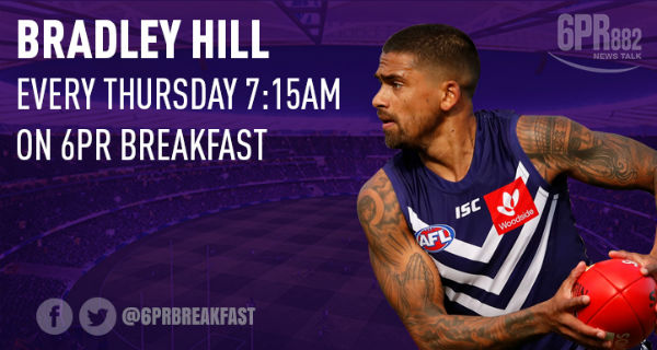 Brad Hill ready for Round One