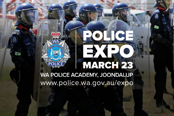 Experience Police work at the expo