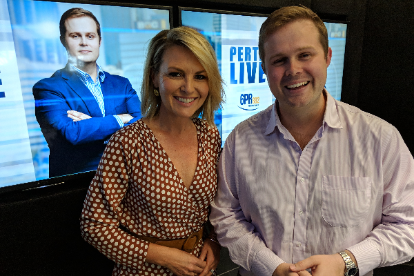 Georgie Gardner back in her home town