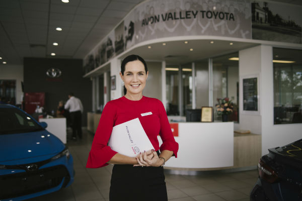 The woman changing the look of car salesmen