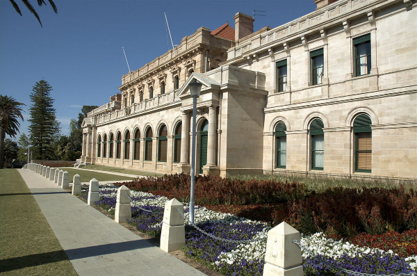 Article image for The (Not So) Hidden Cricket Nets At Parliament House
