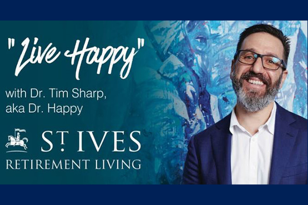 Dr Happy shares his happiness tips