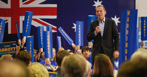 Tony Abbott says he'd take the party leadership if it was offered