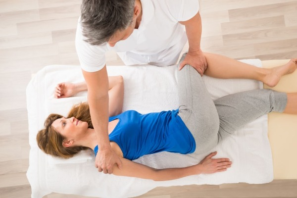 Physiotherapist Dr Andrew Thompson treats your aches and pains