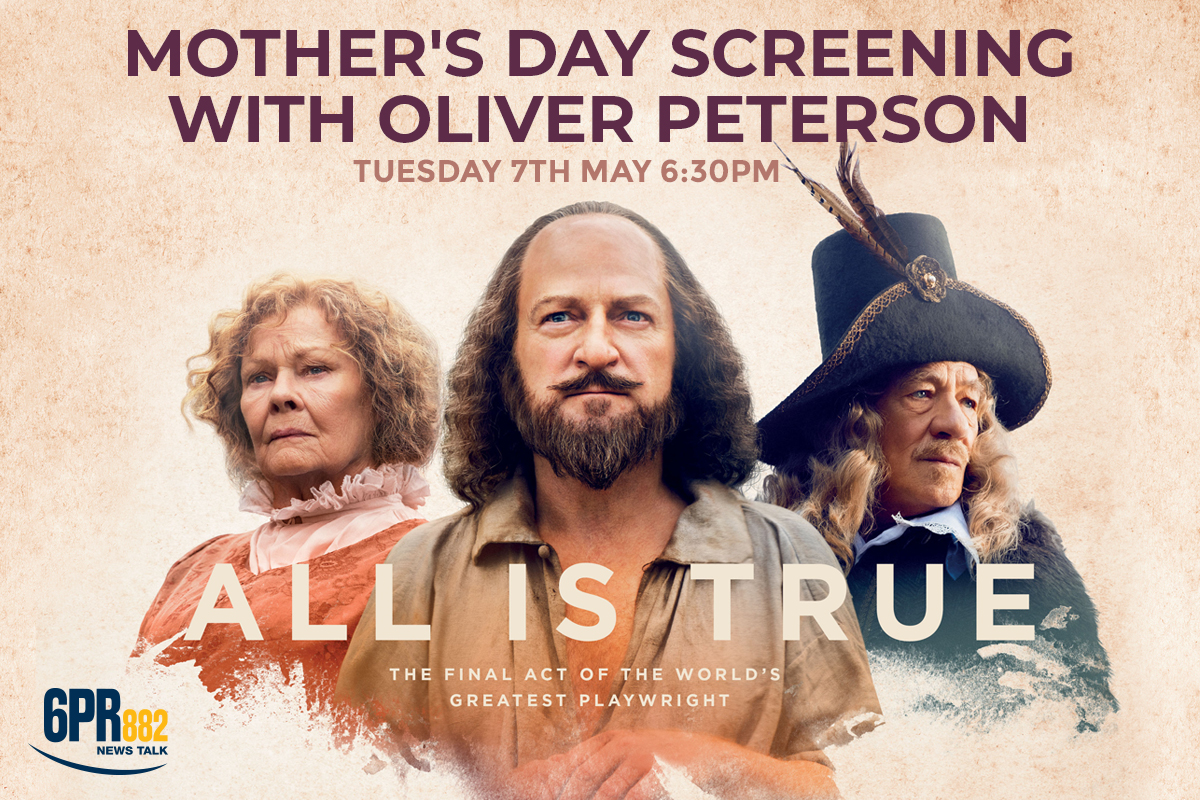 Mother's Day Screening with Oliver Peterson