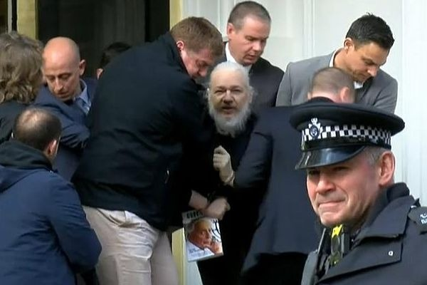 Julian Assange arrested: all the details with Enda Brady
