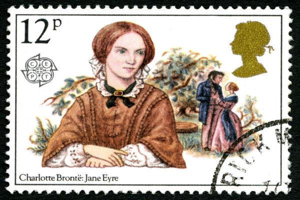 Where was Charlotte Bronte's hair found?