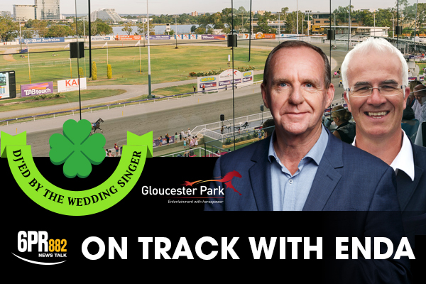 Have dinner with Enda Brady at Gloucester Park