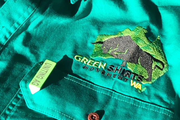 """""""We just want to be left alone to feed the people"""": Green Shirts Movement WA"""