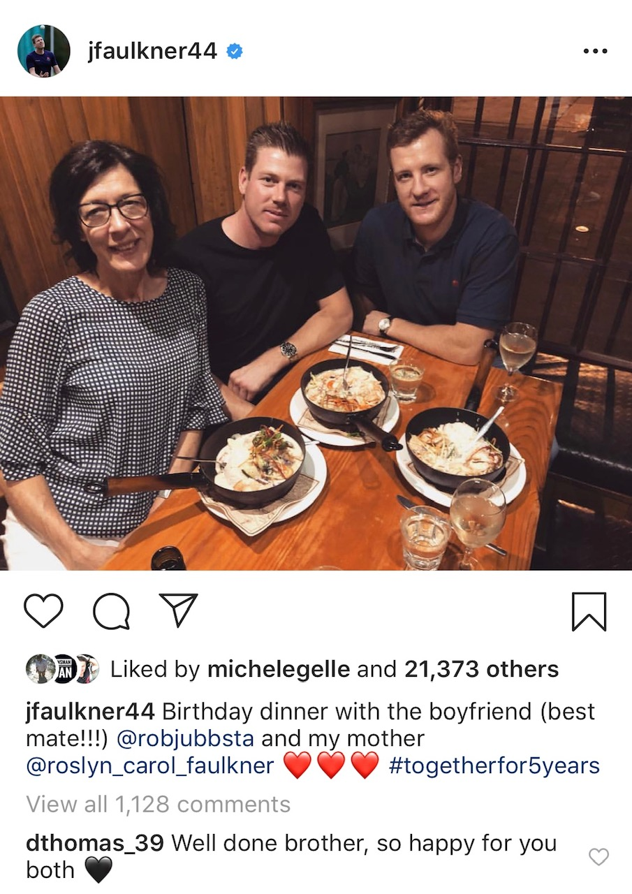 2215128ecc An Aussie cricketer has sent social media into a spin with an Instagram  post alluding he could be in a same-sex relationship, but he's bounced back  from his ...