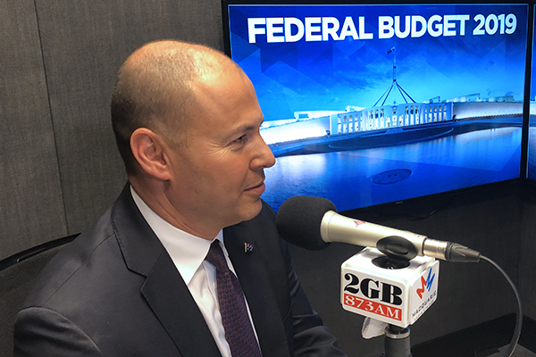 Treasurer insists his budget is for the future, not the election