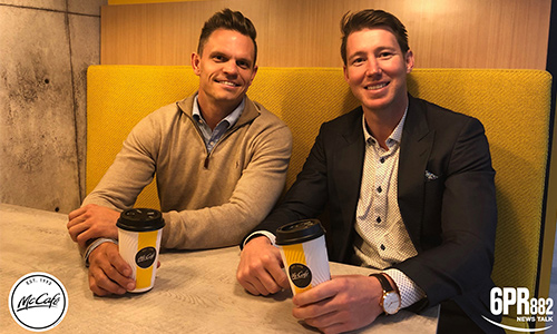McCafe interview series with Lee Spurr and Byron Schammer