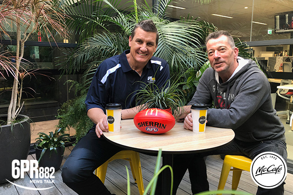 McCafe interview series with Glen Jakovich and David Hart