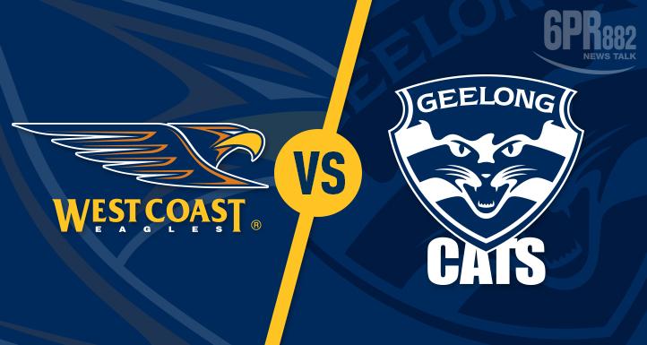 Article image for AFL: Geelong vs West Coast Eagles