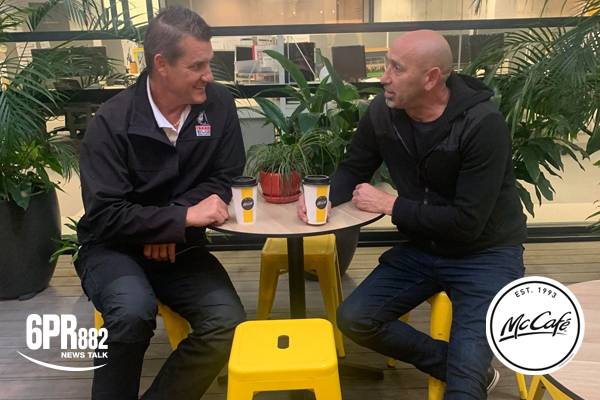 McCafe interview series with Glen Jakovich and Peter Matera