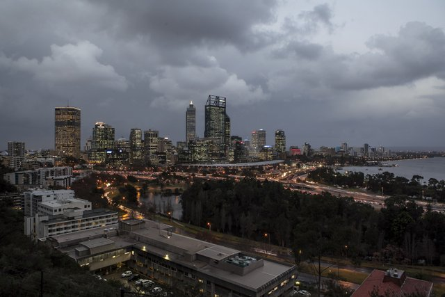 Cold front due to hit Perth tomorrow