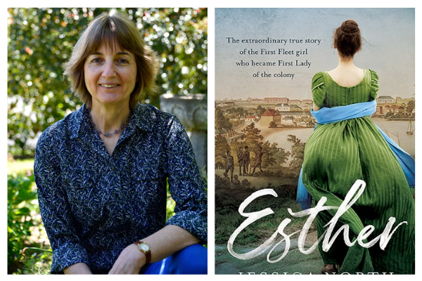 Author Jessica North on her new book Esther