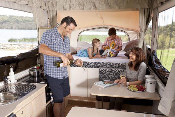 Average Aussie caravaner getting younger