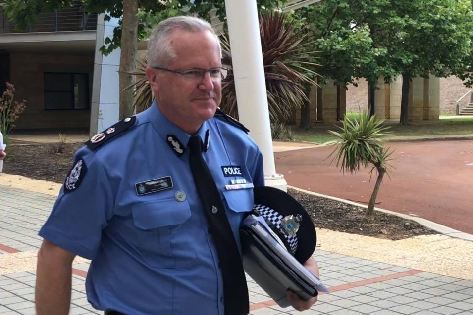 Booze ban with Police Commissioner Chris Dawson