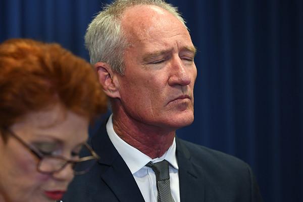 Pauline Hanson breaks down over strip club betrayal