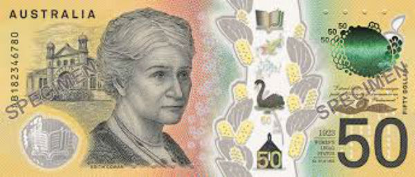 Spelling mistake on new $50 note