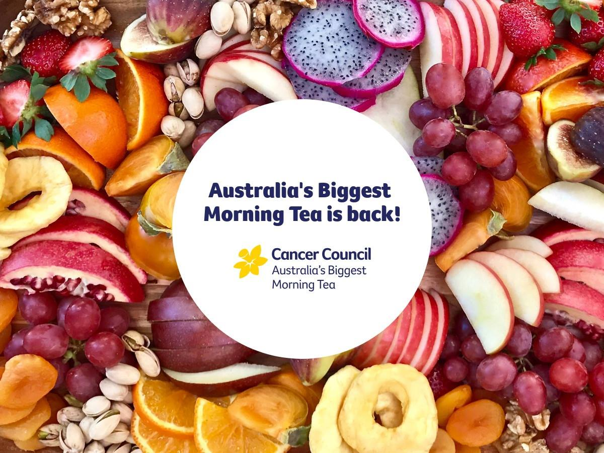 6PR supports Australia's Biggest Morning Tea!