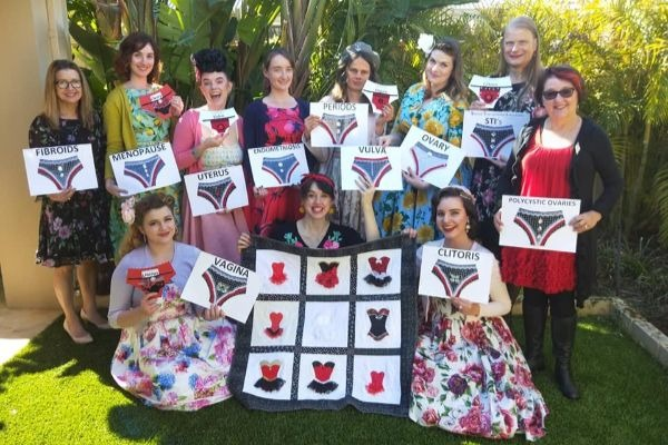 Perth flash mob to support women's gynaecological health