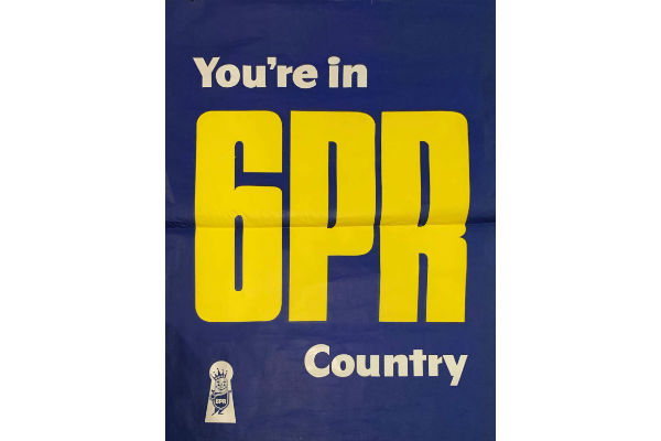 You're in 6PR Country