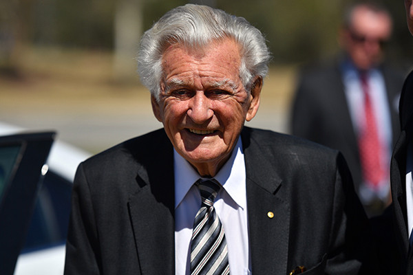 'He was very disappointed': Hawke lamented state of the nation before death