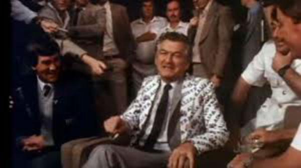 Article image for Bob Hawke jacket was a tea towel pattern