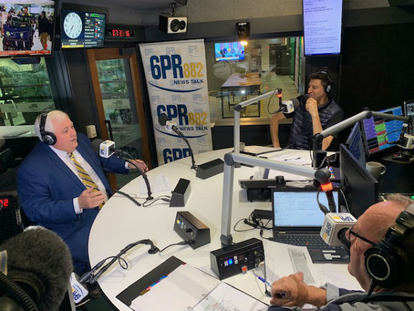 Article image for Clive Palmer talks WA GST share ahead of election