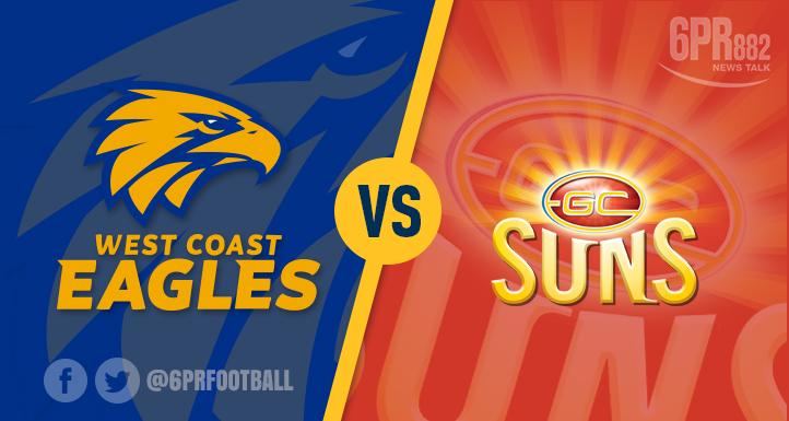Article image for West Coast vs Gold Coast