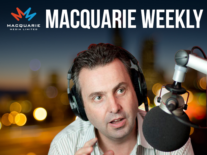 Macquarie Weekly with Justin Smith, 18th August