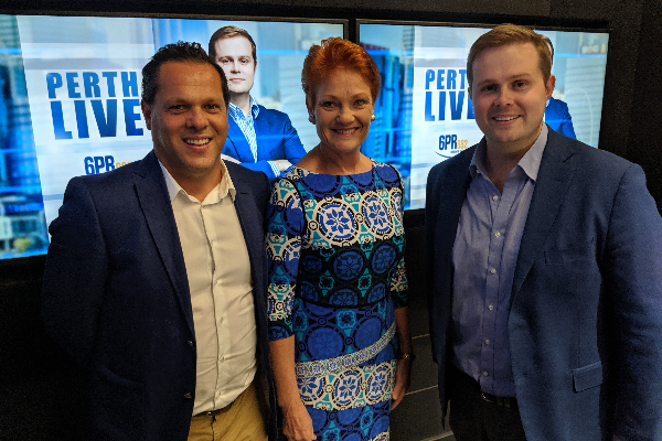 Things won't change if you don't vote for us – Pauline Hanson