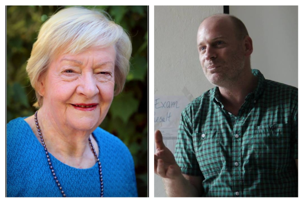 Thursday Panel with Kay Hallahan and Dr. Martin Drum