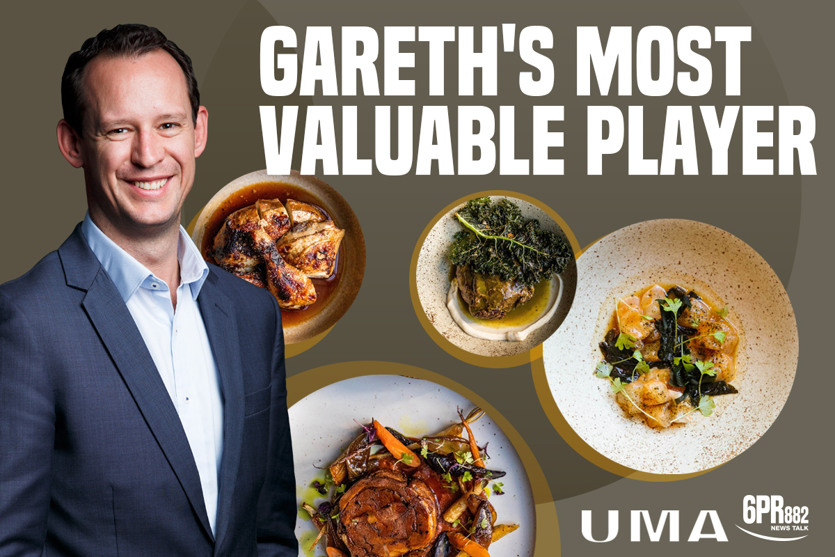 Gareth's Most Valuable Player