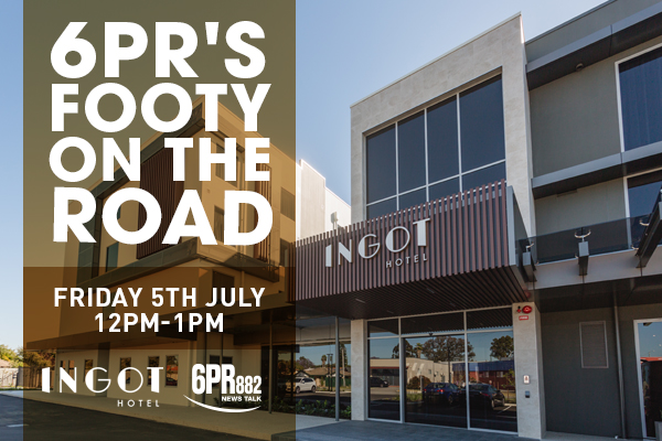 6PR's Footy on the Road