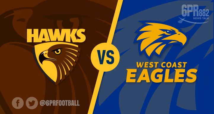 Eagles Swoop Down Hawks
