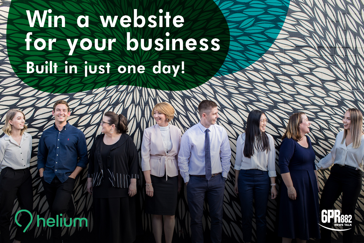 WIN a One Day Website thanks to Helium Marketing