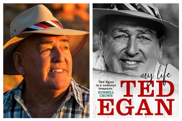 Bush songman and Aussie legend Ted Egan on his new book