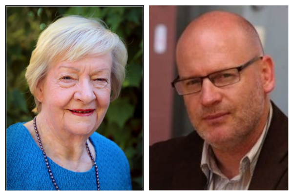 The Thursday panel with Kay Hallahan and Dr Martin Drum